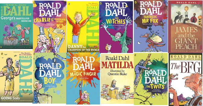 The top 13 Roald Dahl Books to read.