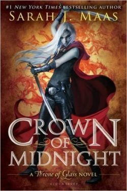 Crown of Midnight by Sarah J Maas, Throne of Glass Book 2
