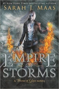 Empire of Storms by Sarah J Maas, Throne of Glass Book 5
