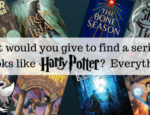 What Would You Give to Find a Series of Books Like Harry Potter… Everything!