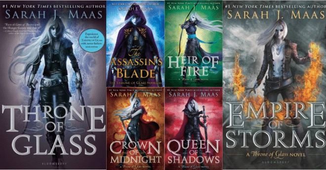 Book In The Throne Of Glass Series